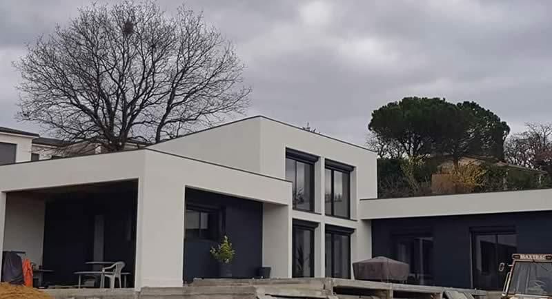 STB-Constructions - particuliers - maison architecte design - macon montelimar - facadier montelimar - charpentier montelimar - Drôme ardèche