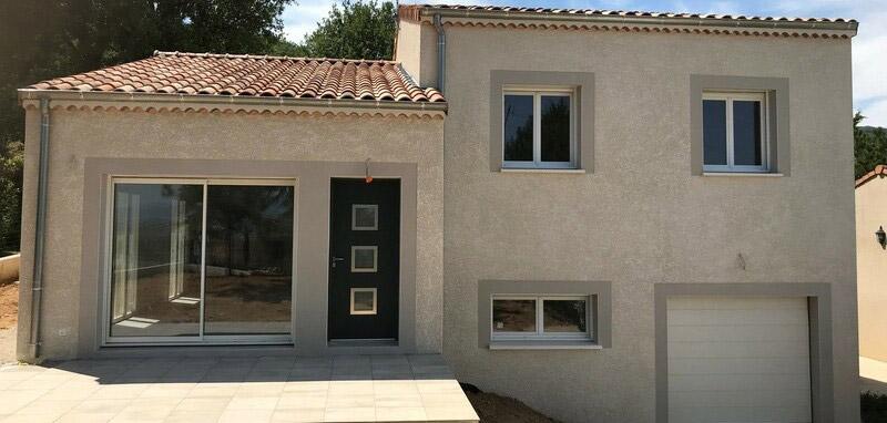 STB Constructions - jolie maison avec sous-sol - renovation facade maison ancienne - facadier enduiseur