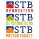 Logos - STB Consctructions - STB ProSud Façade - STB Rénovation - Drôme Ardèche
