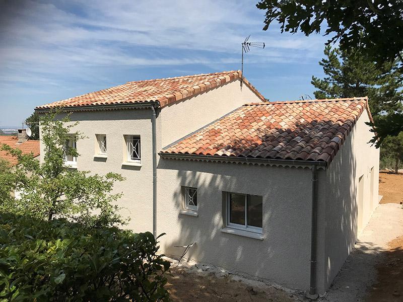 Nos métiers -maison génoise lotissement - STB Constructions - STB Rénovation - STB ProSud Façade - renovation facade maison ancienne - facadier enduiseur