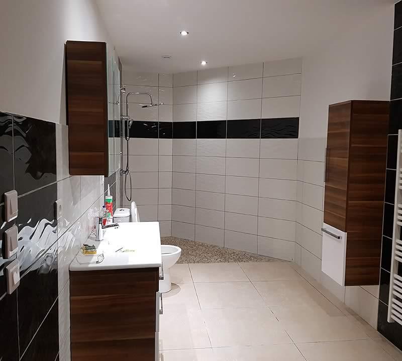 slider - rénovation salle de bain - sol - Drôme Ardèche - STB Constructions - STB Rénovation - STB ProSud Façade