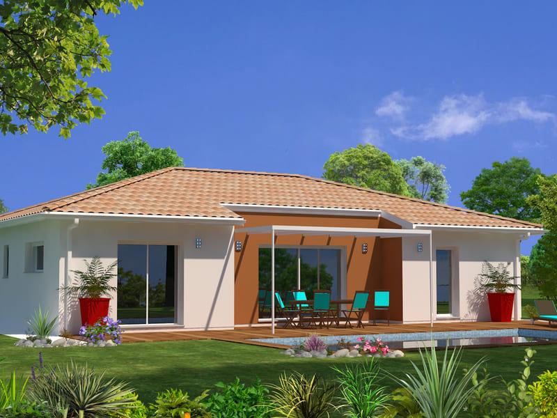 Projet maison plain-pied-terrain-STB Constructions